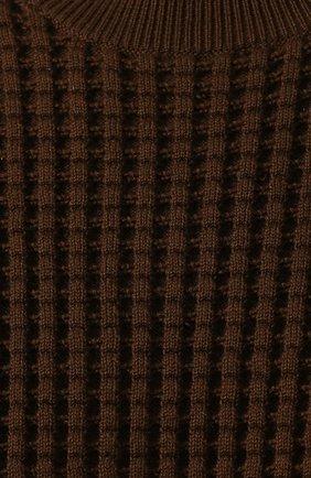 Свитер из смеси хлопка и кашемира | Фото №5