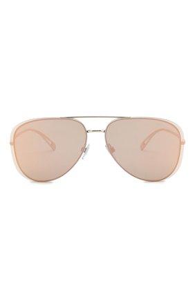 Мужские солнцезащитные очки GIORGIO ARMANI золотого цвета, арт. AR6084 | Фото 2