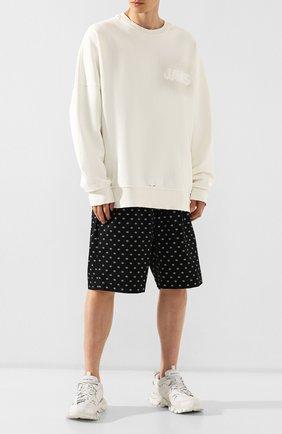 Мужские текстильные кроссовки track BALENCIAGA белого цвета, арт. 542023/W1GB1 | Фото 2