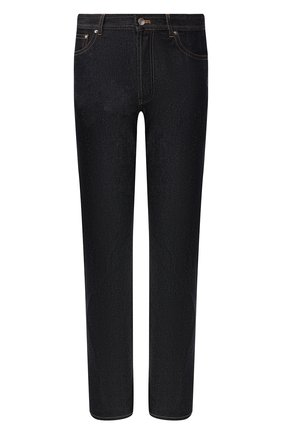 Мужские джинсы BOTTEGA VENETA темно-синего цвета, арт. 566888/VKBC0 | Фото 1