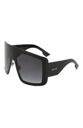 Женские солнцезащитные очки DIOR черного цвета, арт. DI0RS0LIGHT1 807 | Фото 1