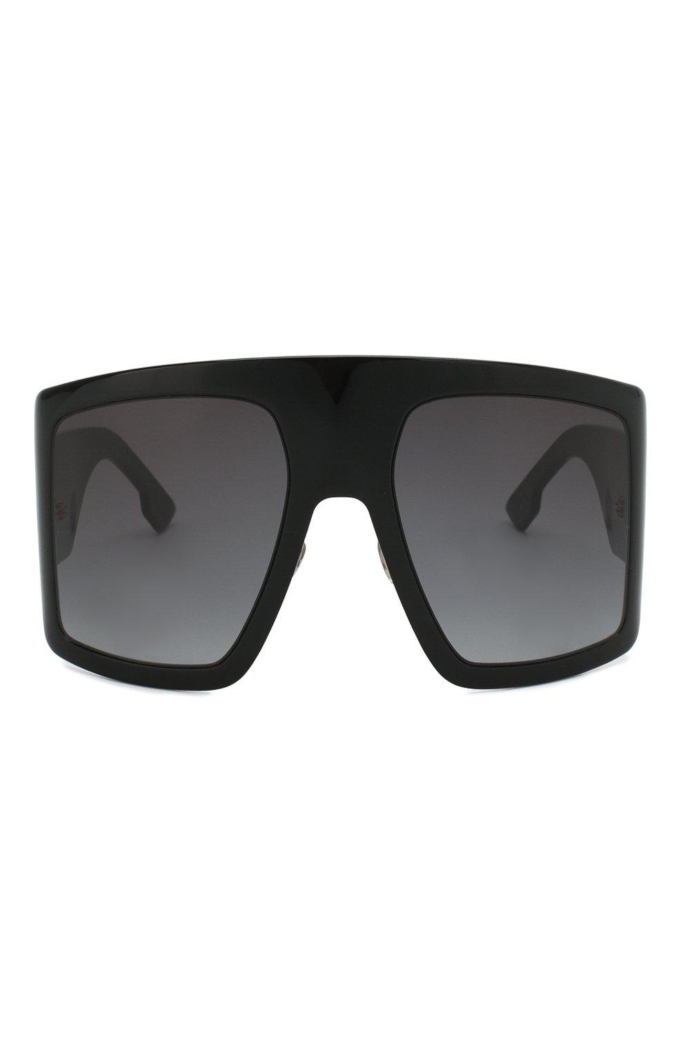Женские солнцезащитные очки DIOR черного цвета, арт. DI0RS0LIGHT1 807 | Фото 3