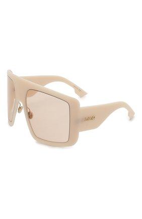 Солнцезащитные очки Dior бежевые | Фото №1
