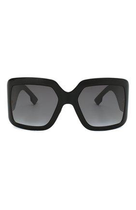 Женские солнцезащитные очки DIOR черного цвета, арт. DI0RS0LIGHT2 807 | Фото 3
