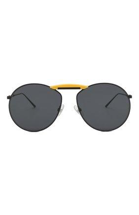 Солнцезащитные очки Fendi x Gentle Monster Fendi черные | Фото №3