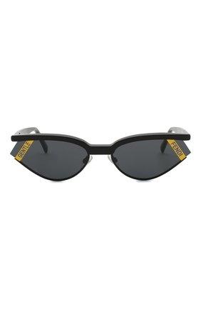Солнцезащитные очки Fendi x Gentle Monster Fendi черные   Фото №3