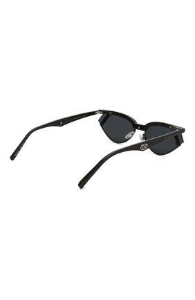 Солнцезащитные очки Fendi x Gentle Monster Fendi черные   Фото №4