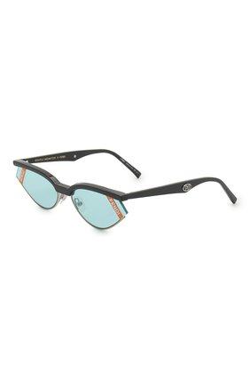 Мужские солнцезащитные очки fendi x gentle monster FENDI голубого цвета, арт. 0369 KB7 | Фото 1