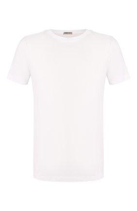 Мужская хлопковая футболка  BOTTEGA VENETA белого цвета, арт. 541638/VEXJ0   Фото 1