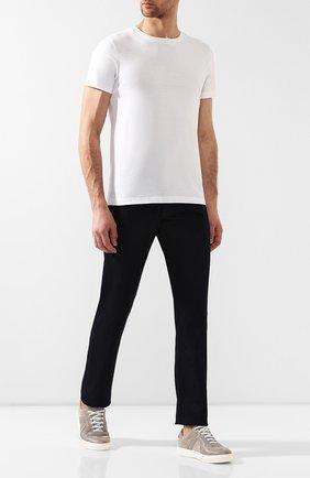 Мужская хлопковая футболка  BOTTEGA VENETA белого цвета, арт. 541638/VEXJ0   Фото 2