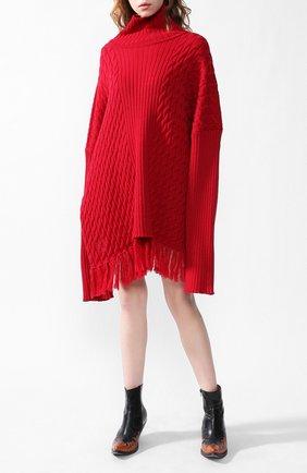 Удлиненный пуловер   Фото №1
