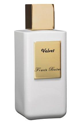 Женский духи velvet FRANCK BOCLET бесцветного цвета, арт. 3575070054545 | Фото 2