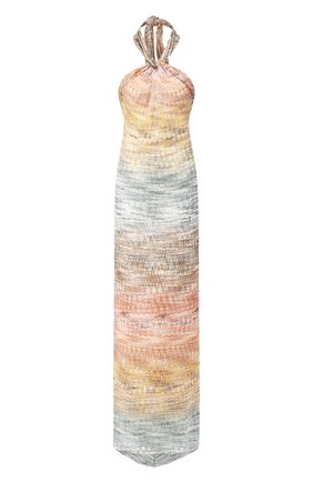 Платье из вискозы Missoni разноцветное | Фото №1
