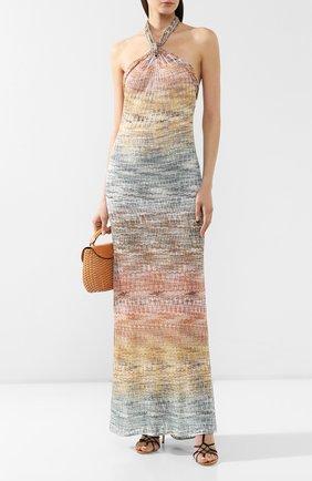 Платье из вискозы Missoni разноцветное | Фото №2