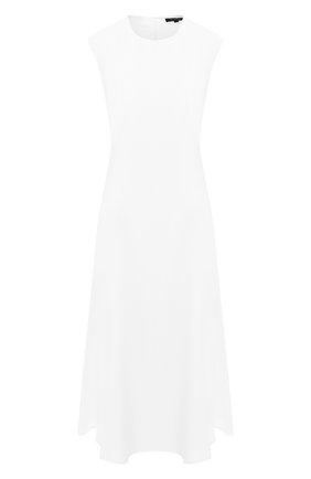 Женское платье из вискозы ST. JOHN белого цвета, арт. K11WW01 | Фото 1