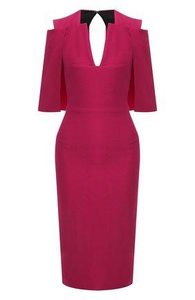 Женское платье ROLAND MOURET розового цвета, арт. EW19/S0275/F2241 | Фото 1