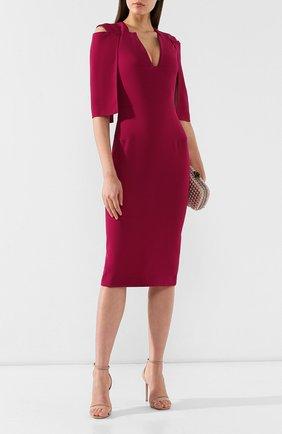 Женское платье ROLAND MOURET розового цвета, арт. EW19/S0275/F2241 | Фото 2