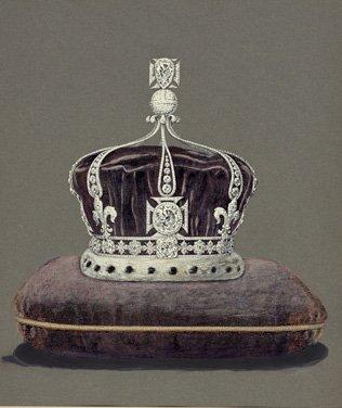 Корона королевы Мэри для коронации короля Георга V, 1911 год