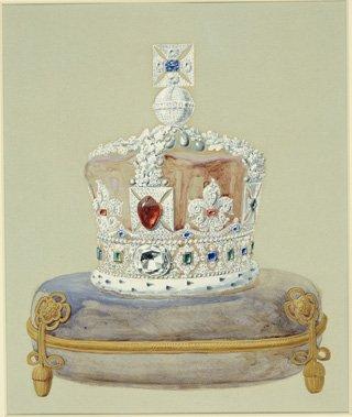 Государственная имперская корона Великобритании, 1937 год