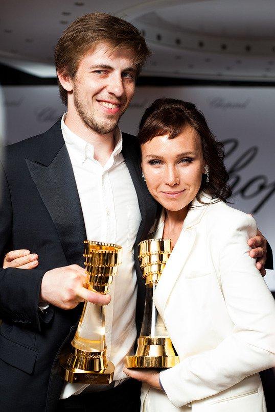 Александр Паль и Дарья Екамасова
