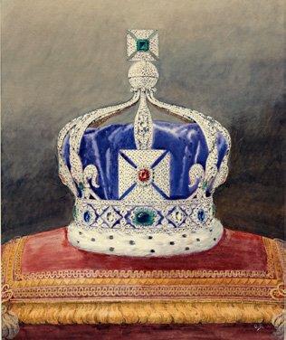 Имперская корона Индии, 1911 год