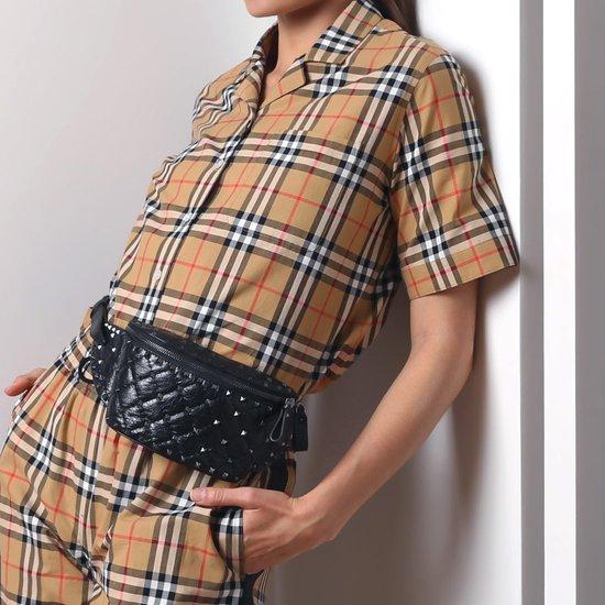 Модные образы с поясными сумками